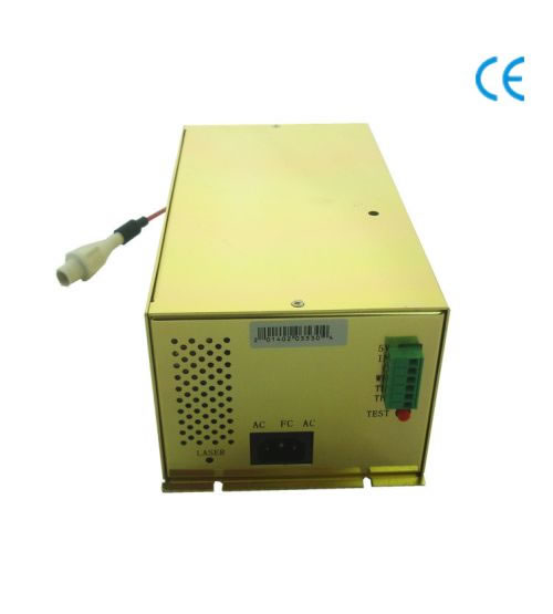 Power Supply Adapting to Both High and Low Level Signals 100W Power Supply AC220V//AC110V for Engraving Machine The Port Control is Simple